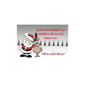 Jouluna sitä herkistythän ja ruukathan