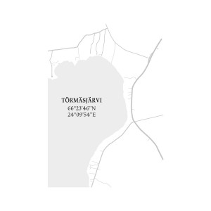 Törmäsjärven sisustuskartta